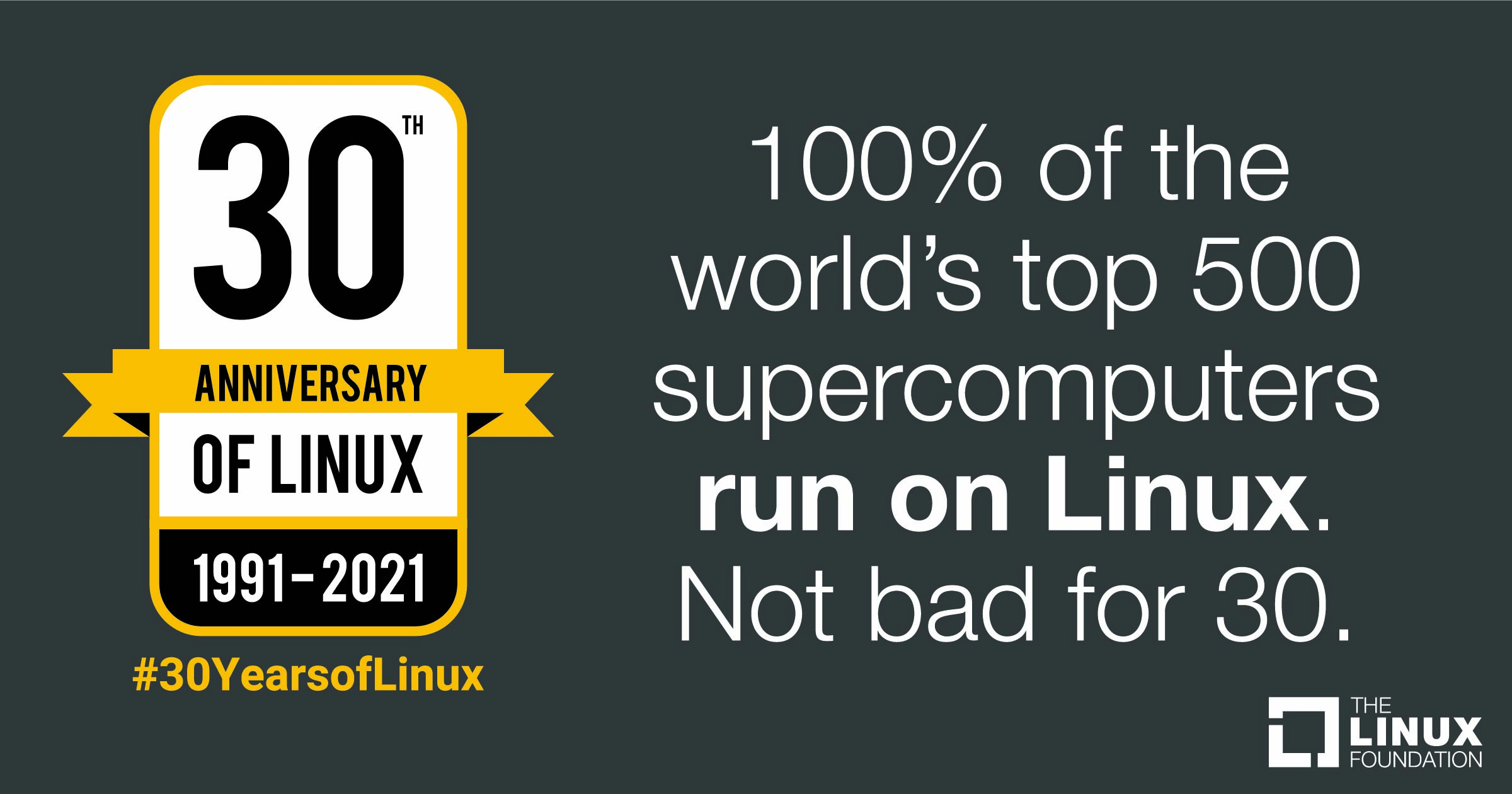 30 Years Of Linux