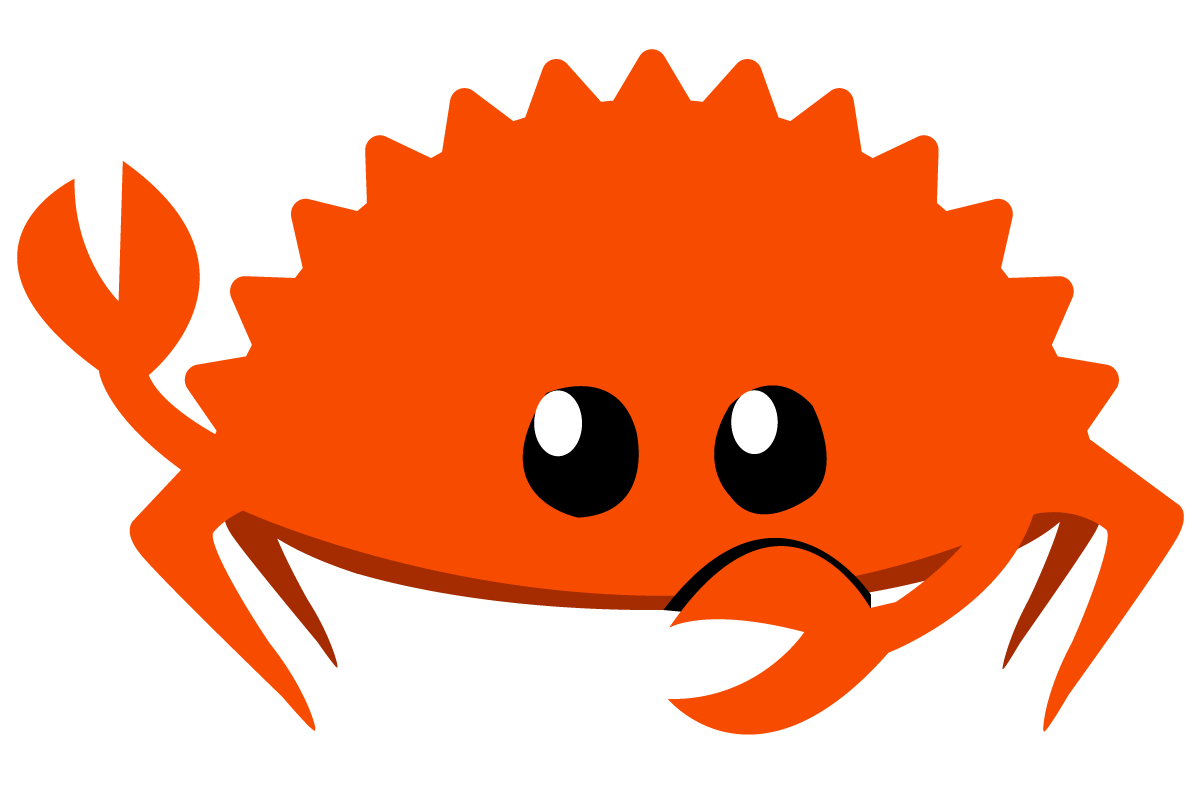 Ferris the crab, unofficial mascot for Rust