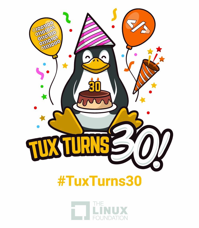 Tux Turns 30